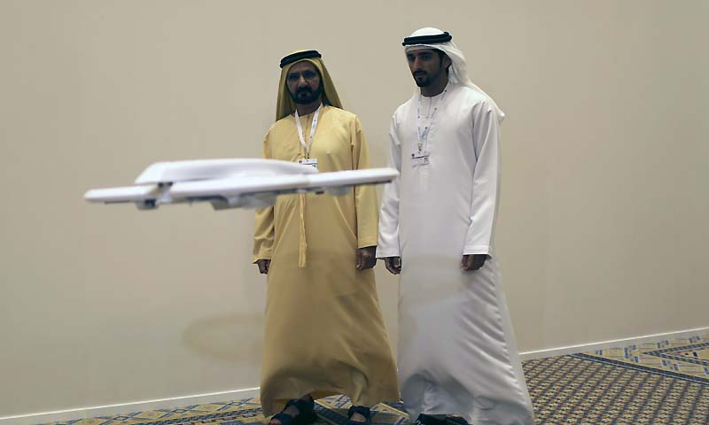 United Arab Emirates Prime Minister And Ruler Of Dubai Sheikh Mohammed Bin Rashid Al