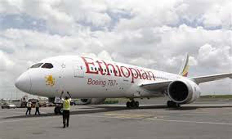 The Boeing 767-300 plane with 202 passengers and crew aboard had taken off from the Ethiopian capital, Addis Ababa, and landed in the Swiss city at about 6 am.   — File Photo by Reuters