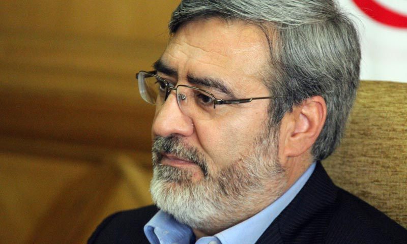 Iranian Interior Minister Abdolreza Rahmani Fazli.—Photo by Masoud Bahadouri/Creative Commons