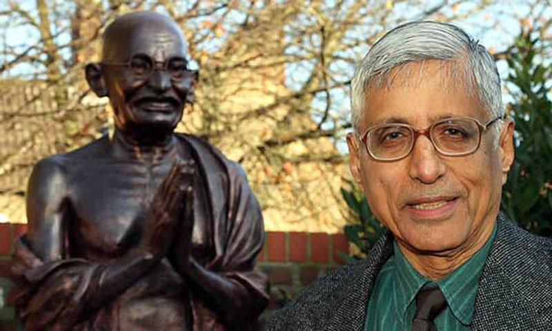 Rajmohan Gandhi. — File photo