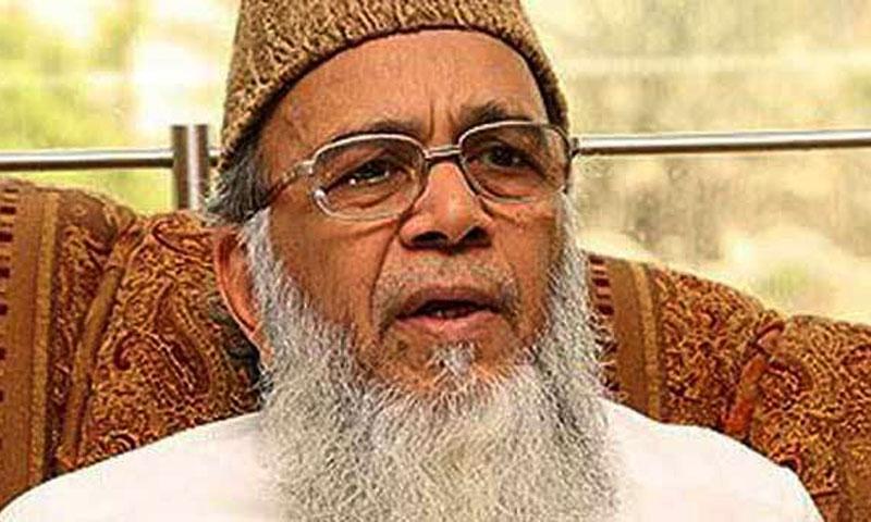 Jamaat-i-Islami chief Syed Munawar Hasan. — File photo