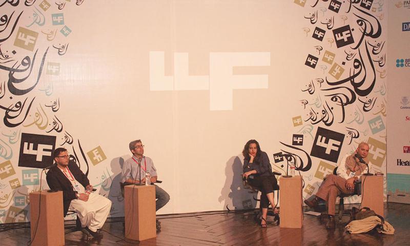 Omar Shahid Hamid, Bilal Tanweer, Saba Imtiaz and H.M. Naqvi -- Hamza Cheema