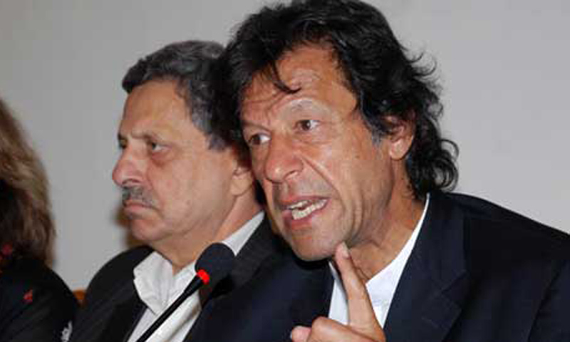 Chief of Pakistan Tehreek-i-Insaf (PTI) Imran Khan.  — File photo