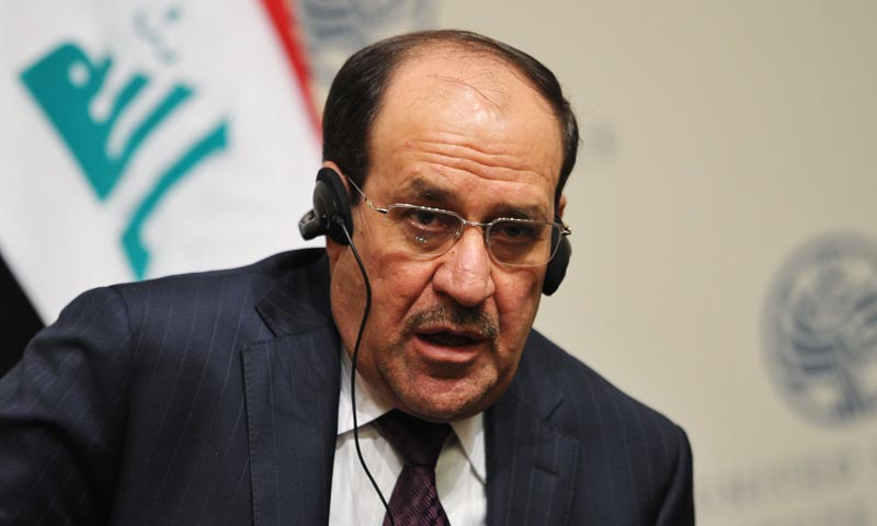 """Prime Minister Nuri Al Malik slammed, """"the dangerous Saudi stance"""" of supporting """"terrorism in the world -- it supports it in Syria, Iraq, Lebanon, Egypt, and Libya and even in countries outside the Arab world.""""— File photo"""