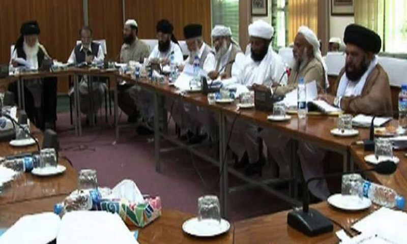 Undated file photo shows a meeting of the Council of Islamic Ideology.—File Photo