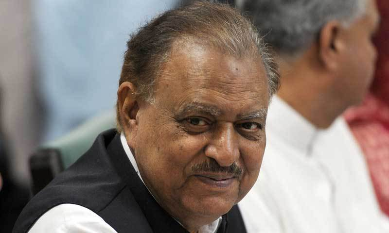 President Mamnoon Hussain. — File photo
