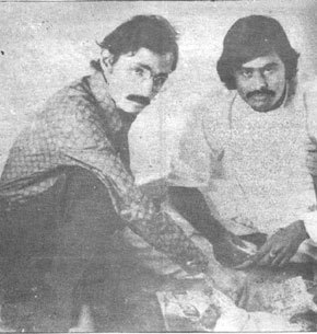Azim Ahmed Tariq and Altaf Hussain were the main architects of post-70s Mohajir nationalist identity.