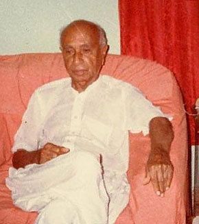 Sindhi scholar, historian and nationalist, GM Syed.