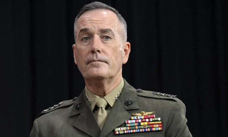 Isaf Commander Gen Joseph Dunford. — File photo