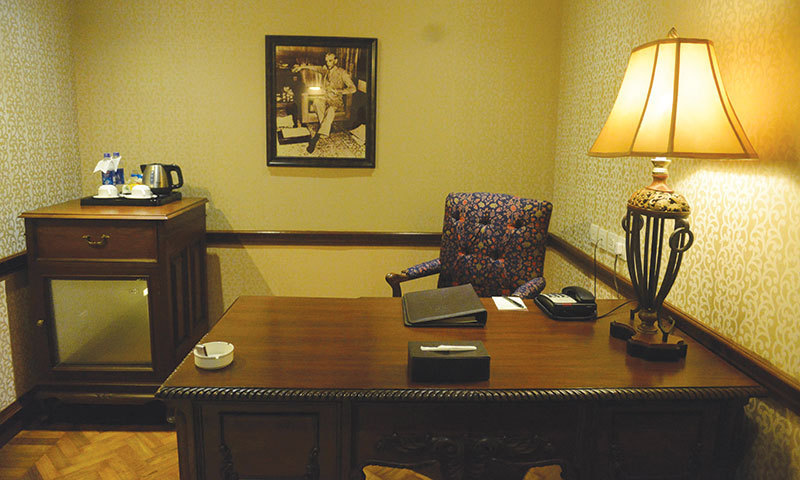 The Quaid-i-Azam suite.