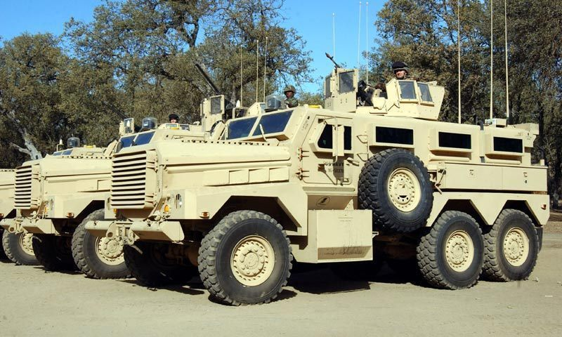 "The MRAP is described as, ""the backbone of the US military's vehicle fleet in Afghanistan"". — Photo courtesy Wikimedia Commons"