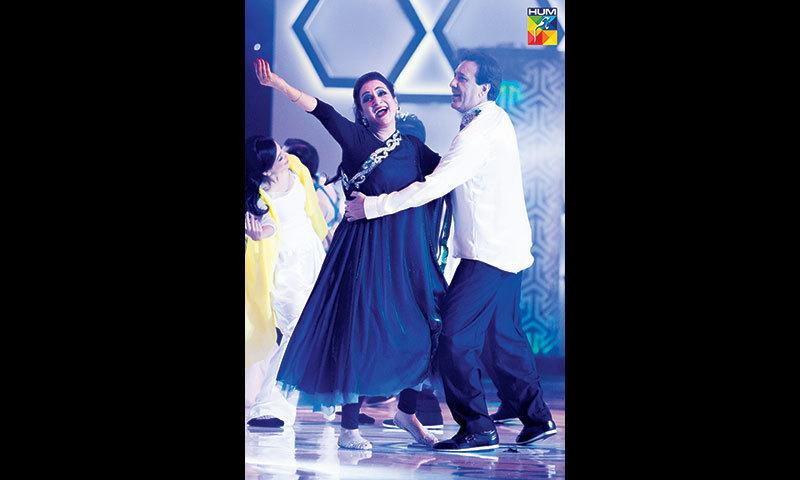 Bushra Ansari and Javaid Sheikh get jiggy with it.