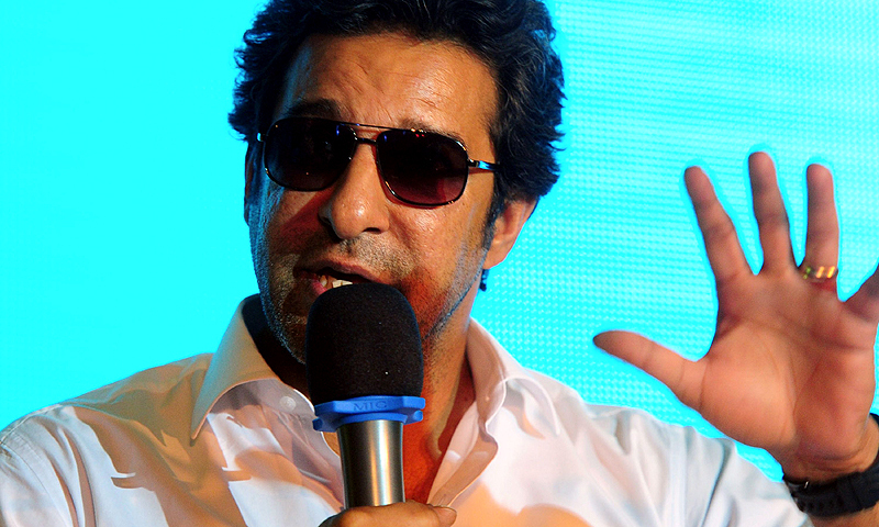 Wasim said Pakistan should forget the panic over their World Twenty20 flop in Bangladesh recently. -File photo
