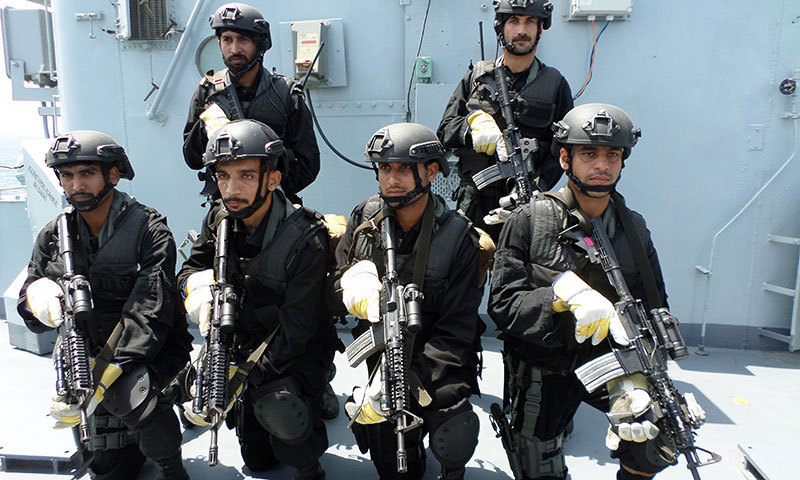 Special Services Group - Navy commandos. — Photo by author
