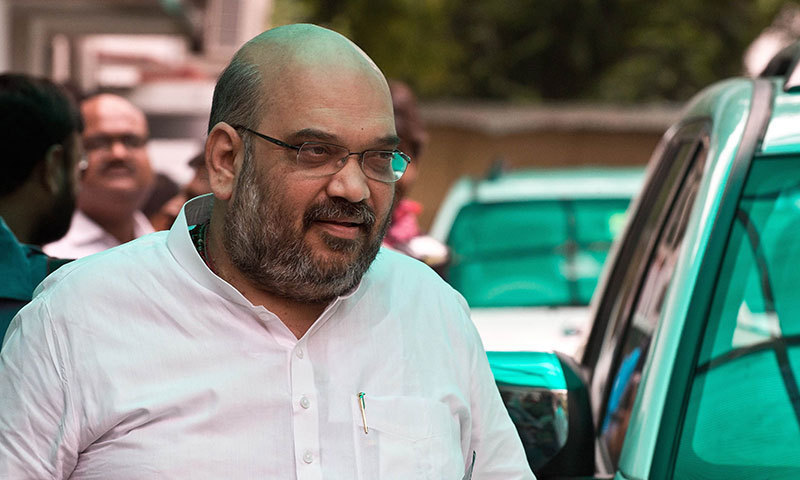 Amit Shah, a top aide of Hindu nationalist opposition leader Narendra Modi. — Photo by Reuters