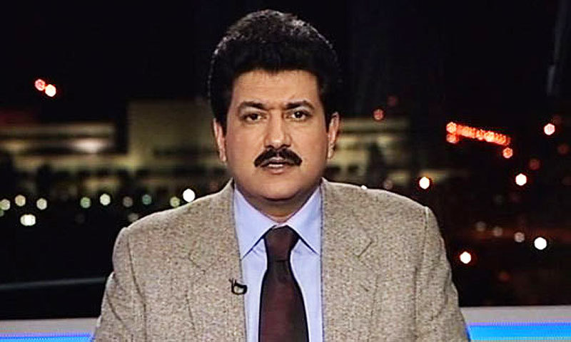 In an interview with BBC Urdu, Hamid Mir said that he has been threatened again to leave the country. – File Photo