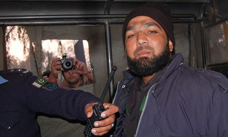 Mumtaz Qadri, the man who shot and killed former Punjab governor Salmaan Taseer. — File photo