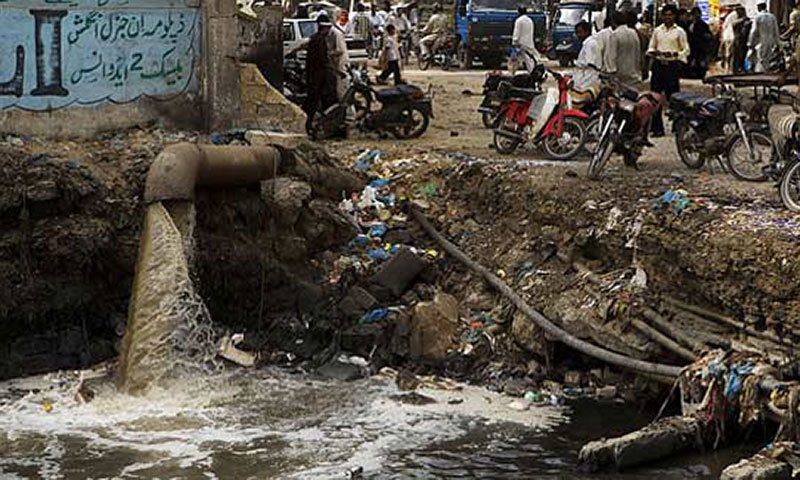 Ten die of suffocation due to chemical waste in D I  Khan canal