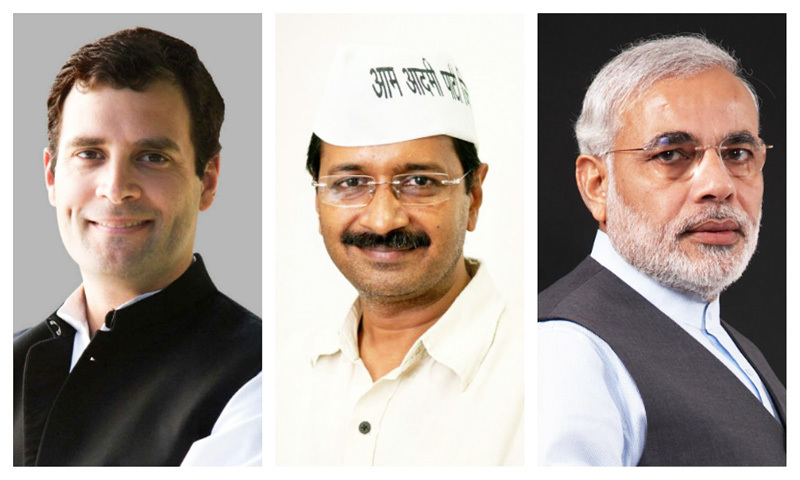 In the wake of a political vacuum, Indians are being forced to believe one individual will bring tumultuous change.