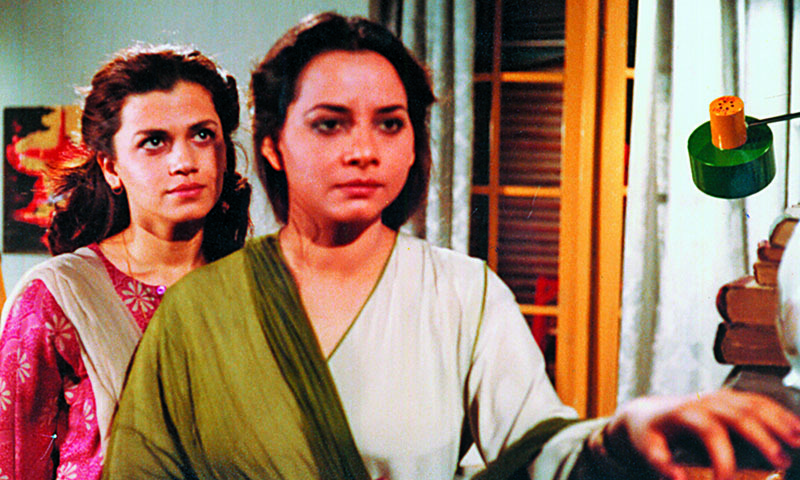 Roohi Bano from her acting days. — File