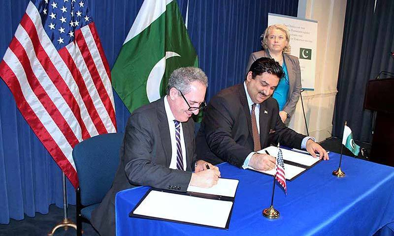 Pakistan US Announce Plan To Expand Trade Over Next Five