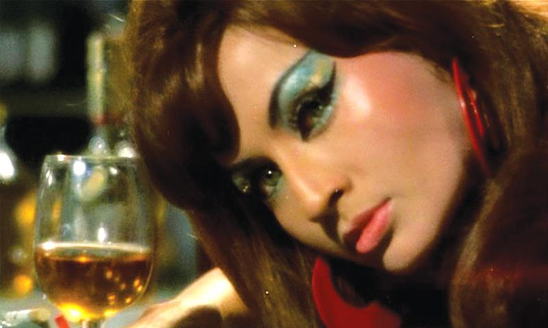 The sassy Helen in the film Caravan (1971) song, Piya tu ab to aaja