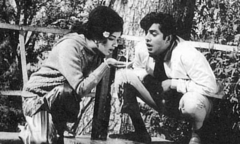 Zeba and Waheed Murad in 1967's 'Arman' (Desire). The romantic film was one of the biggest hits of the 1960s. It kicked off the rapid commercial and creative rise of the country's film industry that would last till the late 1970s.