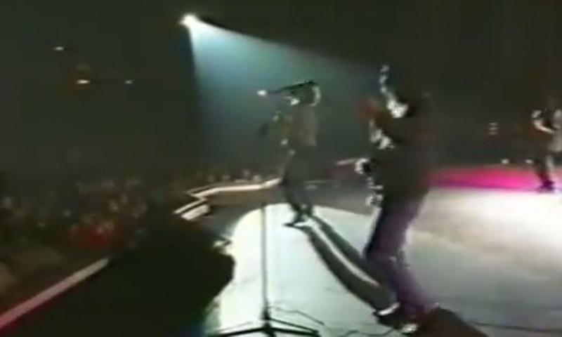 A pop concert in Karachi (1993).