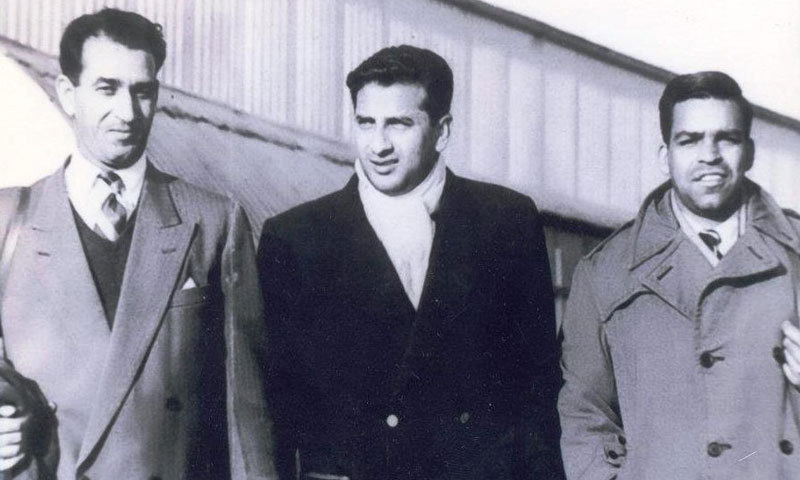 The Pakistan cricket team performed well throughout the 1950s after getting international Test status in 1952. Here are three of that team's players in 1954: AH Kardar, Fazal Mahmood and Imtiaz Ahmad.