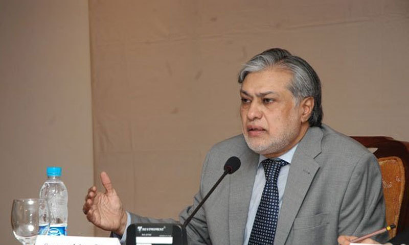 Finance Minister Ishaq Dar. -File photo