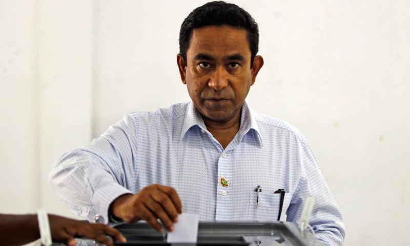 Maldivian President Abdulla Yameen. – AP Photo