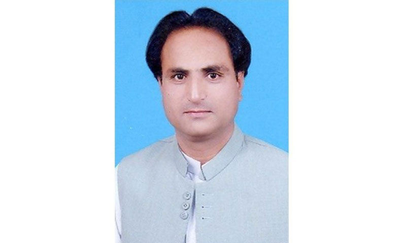 Christian MPA Handery Masieh. — Image taken from website of the Balochistan Assembly