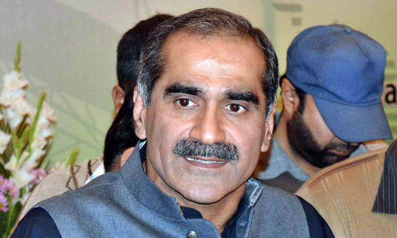 The plan to divert Tahirul Qadri's plane to Lahore was suggested by Railways Minister Khawaja Saad Rafiq, Dawn has learnt.—File Photo