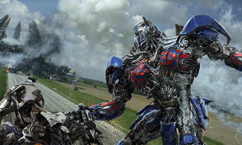 Optimus Prime in a scene from the the film, Transformers: Age of Extinction. — Photo by AP