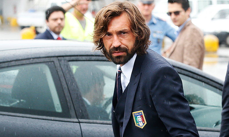 "Pirlo says ""if the new national coach thinks he needs me, I will happily remain available."" -Photo by AP"