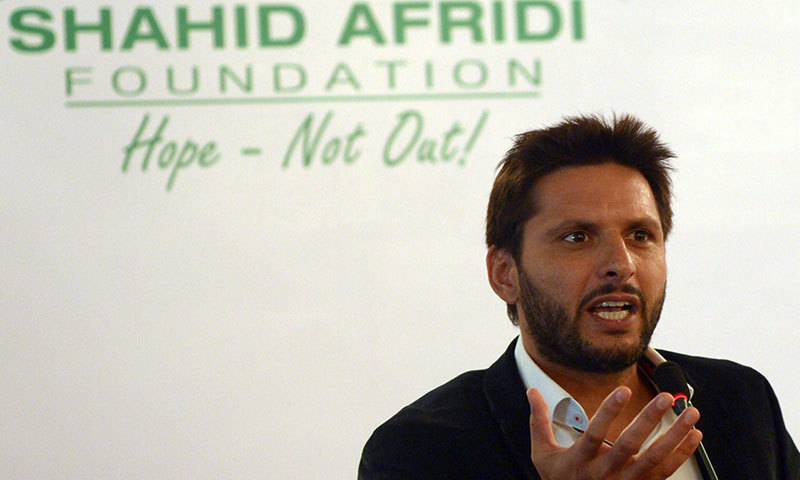 Afridi To Stage Charity T20 For NWA IDPs