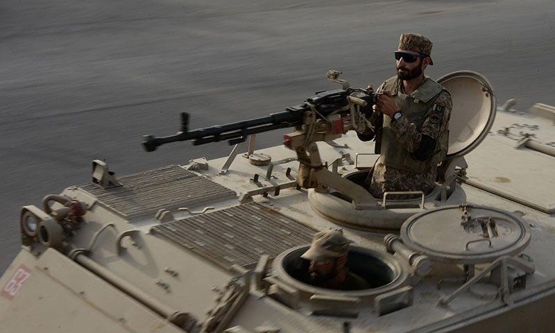 Pakistan Army soldier.  — File Photo by AFP