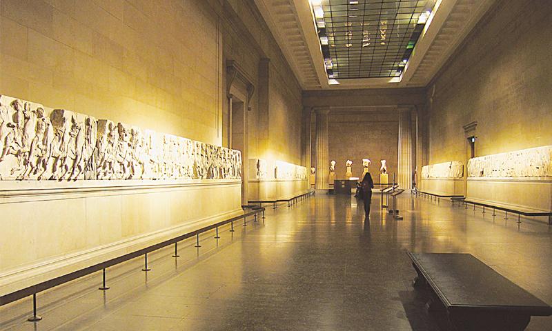 British Museum S Greek Sculpture Show Expected To Restart