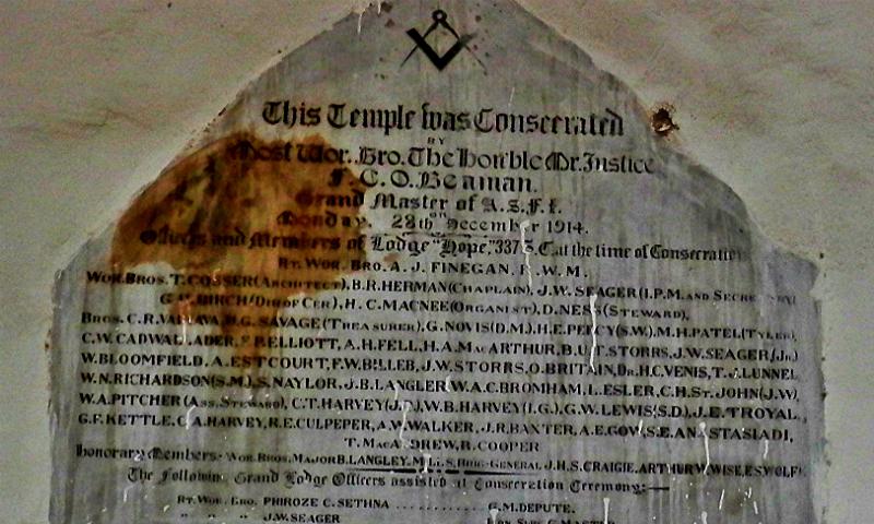 The Truth Behind Karachi039s Freemasons Blogs Dawn