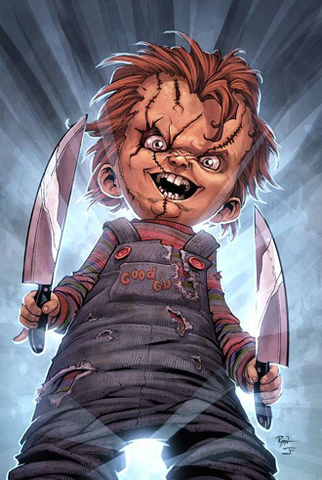 The fourth sequel of famous Hollywood horror film franchise, Child's Play, is based on a violent Palestinian toddler who goes around butchering innocent Israeli soldiers and their cuddly pet hamsters.