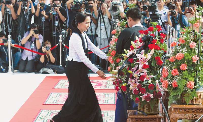 Millions back Suu Kyi call for Myanmar charter change ...