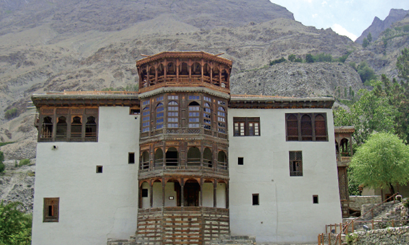 The historic Khaplu Palace. — Photos by the writer