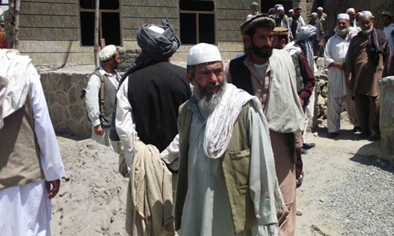 The elders of tribesmen called a jirga to decide about the future course of action.— File photo