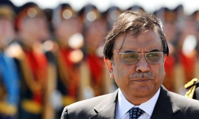 "Zardari says, ""PTI's decision not good for democracy"".— AFP file photo"