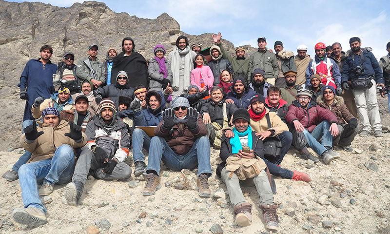 Dukhtar's cast and crew. — Publicity Photo
