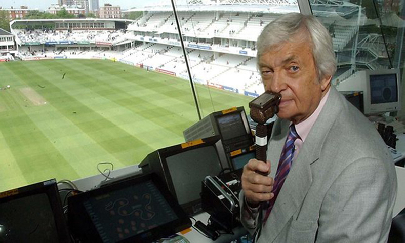 Richie Benaud: One of the most respected voices in cricket since 1964. (Picture courtesy: Daily Telegraph).