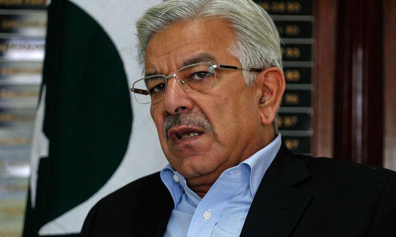 Defence Minister Khawaja Asif. – File Photo