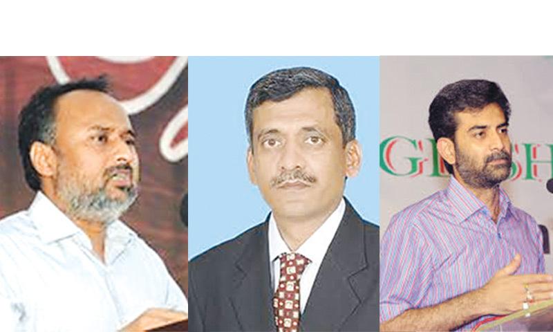 Waseem Aftab, Dr Nadeem Ehsan & Hammad Siddiqui