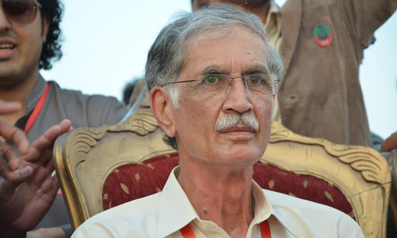 KP's institutions were in total disarray: Khattak