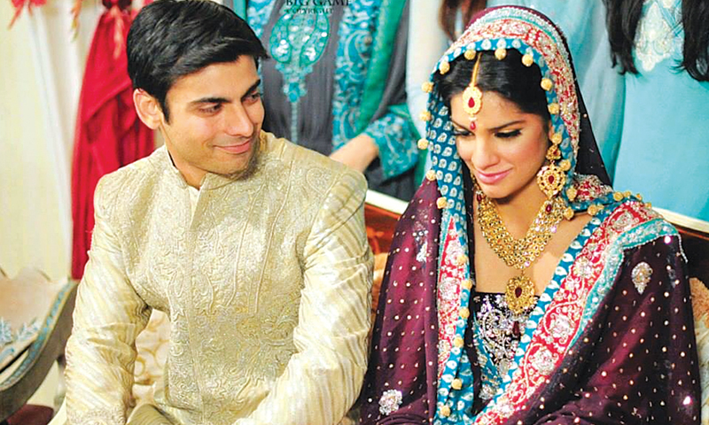 Fawad Khan and Sanam Saeed in Zindagi Gulzar Hai
